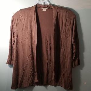 Joe Fresh 3/4 length sleeve open cardigan XS